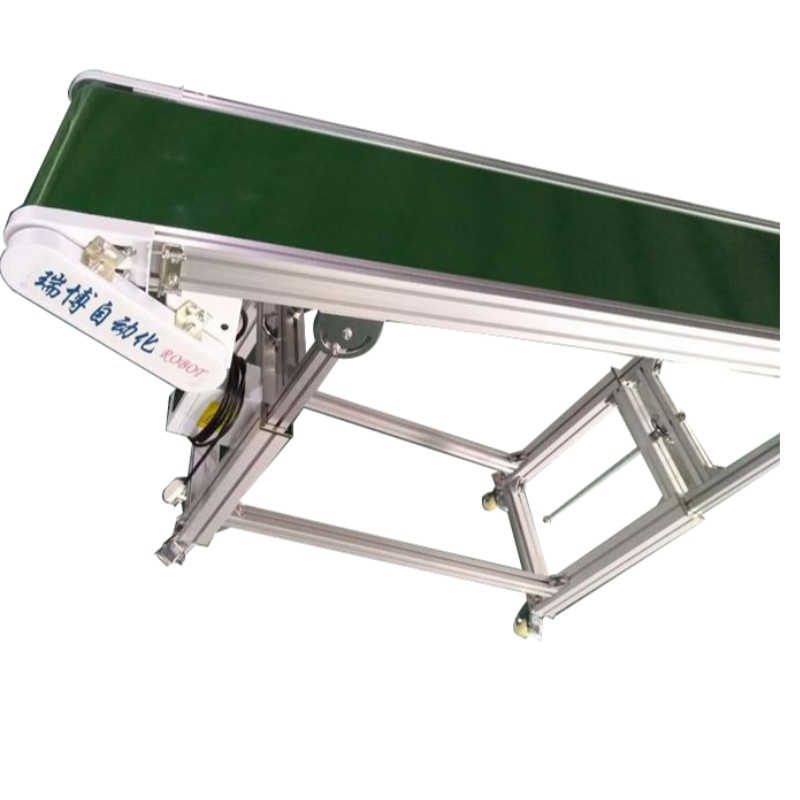 Injection molding manipulator special conveyor belt 300W2500L PVC high temperature resistant conveyor belt