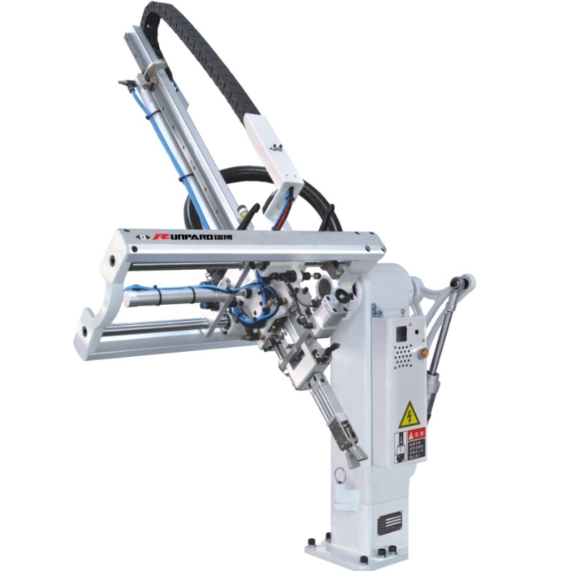 Injection molding machine manufacturer inclined arm robot