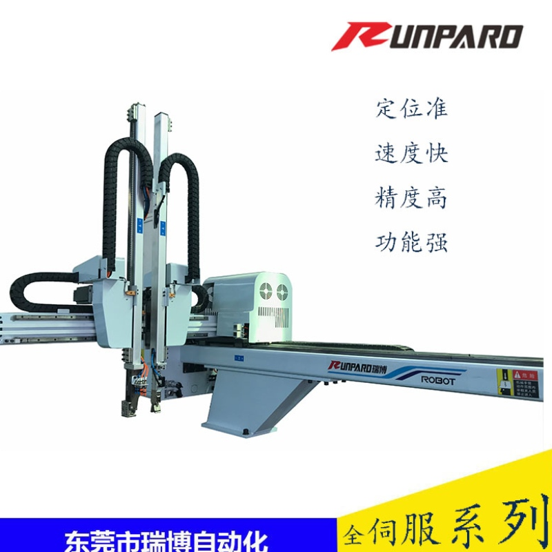 The robot manipulator is used for injection molding machine
